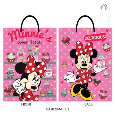 Gift Bag Medium - Disney - Minnie Mouse - Sweet Treats - Pink