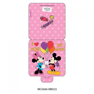 Mini Card - Disney - Mickey & Minnie Mouse -  I Love You So Much
