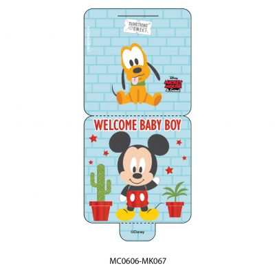 Mini Card - Disney - Mickey & Minnie Mouse - Just For You