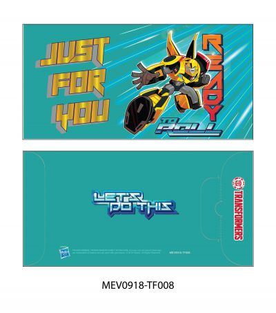 Money Envelope Large - Hasbro - Transformer - Just For You