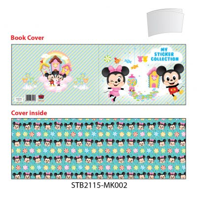 Sticker Book - Disney - Mickey & Minnie Mouse - Happy Moment