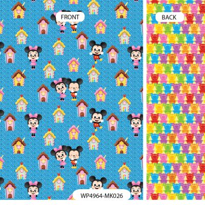 Wrapping Paper - Disney - Mickey & Minnie Mouse - Jelly